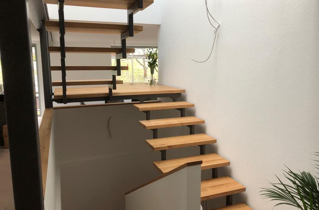Metallkonstruktionstreppe